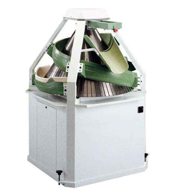 Conical rounder